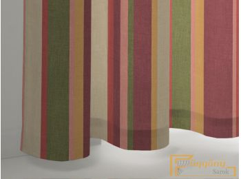 (4 szín) Multicolour Monterey nyomott dimout R-függöny 15