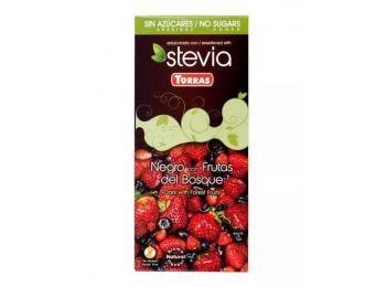 Torras étcsokoládé erdei gyümölcsös ízben