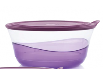 Elegancia tál 4,6 L lila Tupperware