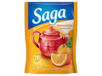 Gyümölcstea, 20x1,7 g, SAGA, narancs (KHK642)