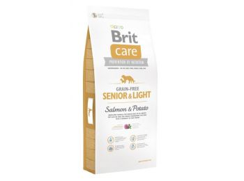 Brit CARE Senior&Light Salmon(Lazac&Burgonya) kutyatáp 3 kg