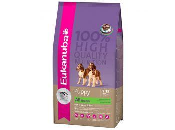 Eukanuba Puppy & Junior Lamb & Rice 18 kg