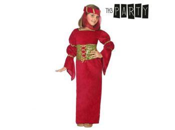 Gyerek Jelmez Középkori hölgy Piros 7-9 É