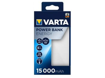 Hordozható akkumulátor, 15000 mAh, VARTA (VHAK15)