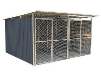 G21 KEN 886 kutyaketrec - 322 x 275 cm, két férőhelyes, s
