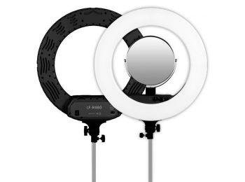 Caruba Round Vlogger 48cm LED szett táskával - fekete (D15