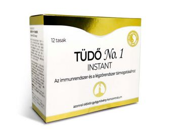 Dr.Chen tüdő no.1 instant tea 12filter