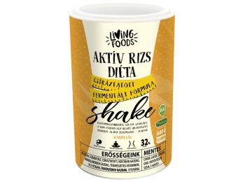 Living foods bio aktív rizs diéta shake vanília 600g