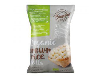 Biopont bio barna rizsgolyó sós 100g