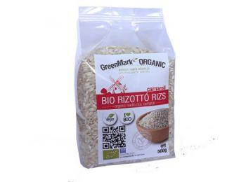 Greenmark bio rizottó rizs 500g