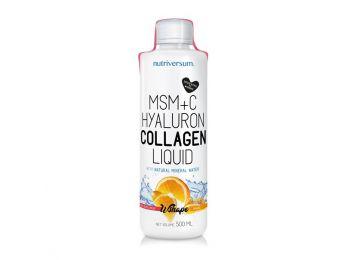 Nutriversum WSHAPE MSM+C Collagen liquid narancs 500ml