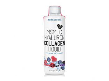 Nutriversum WSHAPE MSM+C Collagen liquid erdei gyümölcs 500ml