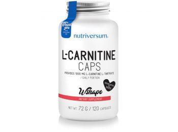Nutriversum WSHAPE L-Carnitine kapszula 120db