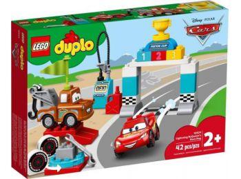 LEGO Duplo 10924 - Villám McQueen versenyének napja
