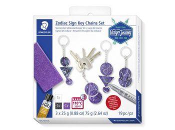 Kreatív készlet, STAEDTLER Design Journey Zodiac Sign, kulcstartó (TS61DJT2)