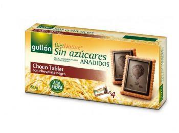 Gullón cukormentes keksz choco tablet 150g