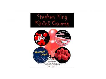 Stephen King kitűző csomag