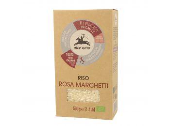 Alce nero bio rosa marchetti fehér rizs 500g