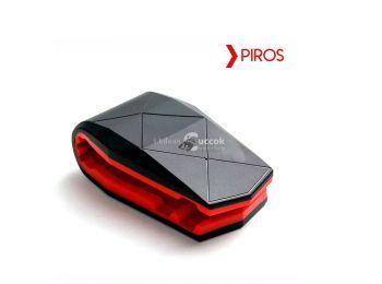 Aligátor autós telefontartó - Piros