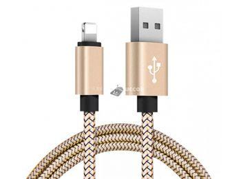 Lightning Iphone gyorstöltő adatkábel - Arany
