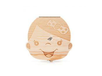 Fogtartó dobozka - Kislány