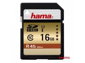 Hama 114942 16GB SDHC memóriakártya 45 MB/sec