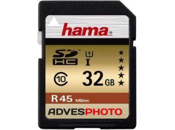 Hama 114943 32GB SDHC memóriakártya 45 MB/sec