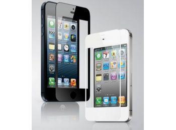 iPhone 4/4s GGS Larmor LCD védő fekete