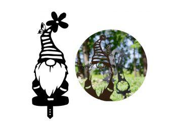 Mókás kerti törpék - Csíkos sapkás