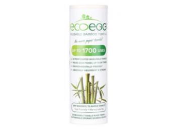 EcoEgg bambusz törlőkendő 20db