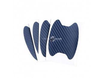 Autófogantyú alá karcolásvédő fólia - Kék