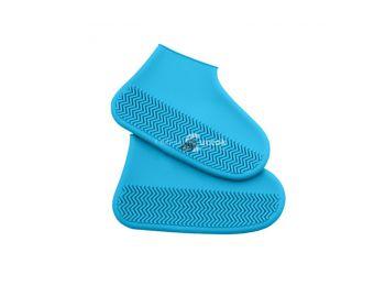 (3 színben 3 méretben) Kék szilikon cipővédő S