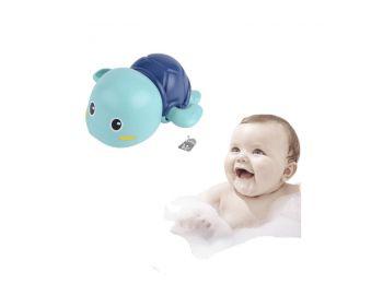 Úszkáló teknősös fürdőjáték - Kék