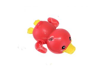 Úszkáló kacsa fürdőjáték - Piros