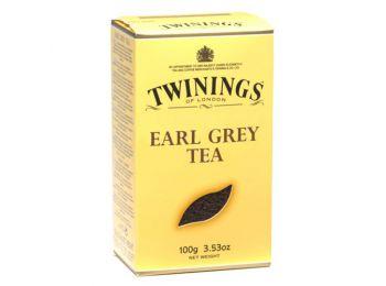 Twinings earlgrey tea papirdobozos 100g