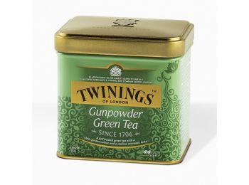 Twinings gunpowder szálas zöld tea fémdobozos 100g
