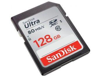 SanDisk SDXC Ultra memóriakártya 128GB