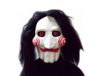 SAW Jigsaw Fűrész Billy halloween farsangi