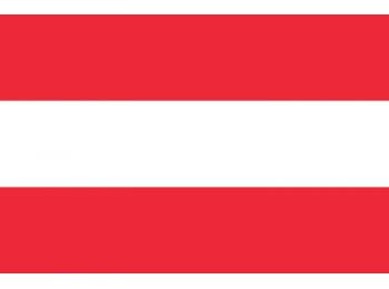 Nemzeti lobogó ország zászló nagy méretű 90x150cm - Ausztria, osztrák