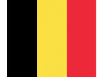 Nemzeti lobogó ország zászló nagy méretű 90x150cm - Belgium, belga
