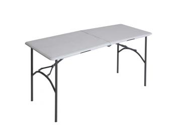 Félbehajtható asztal 152 x 70 cm