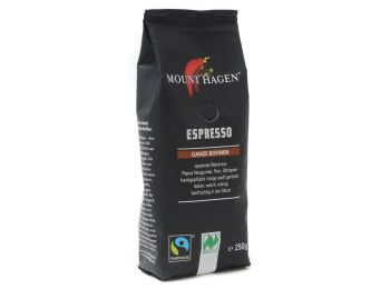 mount hagen bio szemes espresso kávé