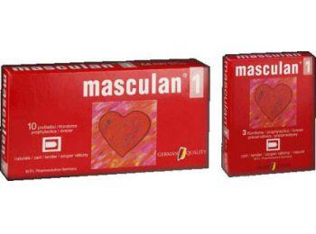 Óvszer masculan 1-Es 10db