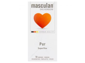 Óvszer masculan pur 10db