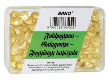 Bánó fokhagyma-Galagonya-Fagyöngy kapszula 100db