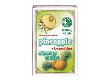 Dr.Chen ananász rágótabletta l-Karnitinnel 40db