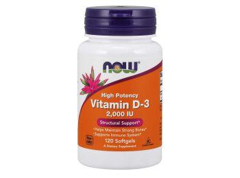 Now vitamin d-3 2000NE kapszula 120db