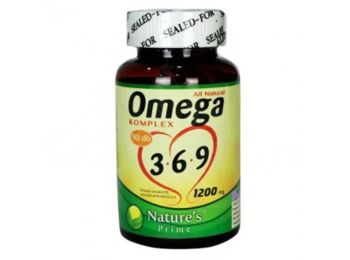 Natures Omega 3-6-9 komplex kapszula 90db