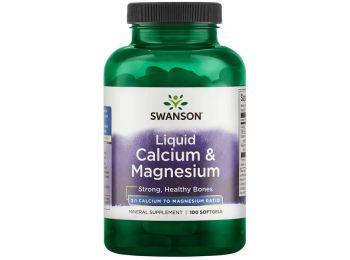 Swanson liquid calcium-Magnesium kapszula 100db