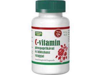 Zöldvér c-Vitamin pirospaprika-Hibiszkus kapszula 90db